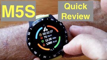 Bakeey M5S GPS, SIM/Bluetooth Calls, Blood Pressure, IP67 Waterproof Smartwatch: Quick Review