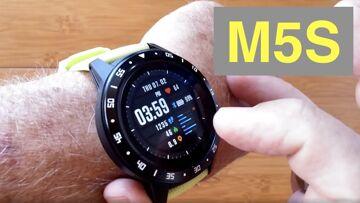 Bakeey M5S GPS, SIM/Bluetooth Calls, Blood Pressure, IP67 Waterproof Smartwatch: Unboxing & 1st Look