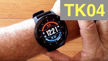 LOKMAT TIME TK04 GPS, SIM/BT Calls, Blood Press, IP67 Wtrproof Dress Smartwatch: Unboxing & 1st Look