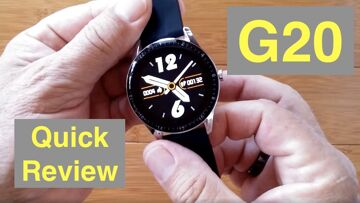 Bakeey G20  IP67 Waterproof Bluetooth Calling Blood Pressure Sports Smartwatch: Quick Overview