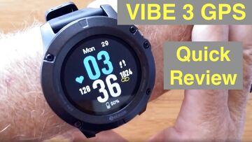 ZEBLAZE VIBE 3 GPS IP67 Waterproof Multi Sport Blood Pressure Smart Watch: Quick Overview