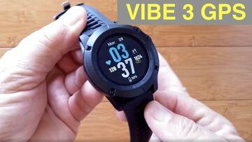 ZEBLAZE VIBE 3 GPS IP67 Waterproof Multi Sport Blood Pressure Smart Watch: Unboxing and 1st Look