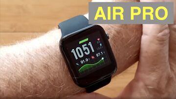 LEMONDA AIR PRO Temperature Blood Pressure IP67 Waterproof Health Smartwatch: Unboxing and 1st Look