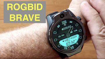 """ROGBID BRAVE 1.69"""" TFT Screen 1360mAh 8MPCams 3G+32G IP68 Waterproof 4G Smartwatch: Unbox & 1st Look"""