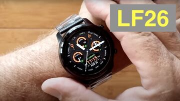 LEMFO LF26 Full Touch 360*360 HD Amoled IP67 Waterproof BT 5.0 Smartwatch: Unboxing and 1st Look