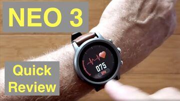 ZEBLAZE NEO 3 IP67 Waterproof 20 Day Battery Premium Dress Smartwatch: Quick Overview