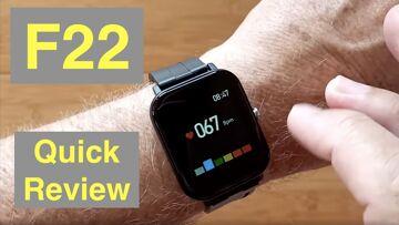 Bakeey F22 Immunity Monitoring Blood Pressure IP67 Waterproof Health Smartwatch: Quick Overview