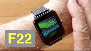 Bakeey F22 Immunity Monitoring Blood Pressure IP67 Waterproof Health Smartwatch: Unboxing & 1st Look