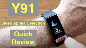 Bakeey Y91 IP68 Smartwatch/Band ALL THIS: ECG/Pulse/BP/HRV/Sleep Apnea/SpO2/More: Quick Overview