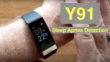 Bakeey Y91 IP68 Smartwatch/Band ALL THIS: ECG/Pulse/BP/HRV/Sleep Apnea/SpO2/More: Unbox & 1st Look