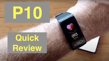 Bakeey P10 IP67 Smartwatch/Chest Mount ECG Plus Pulse/BP/HRV/Sleep Apnea/SpO2/More: Quick Overview
