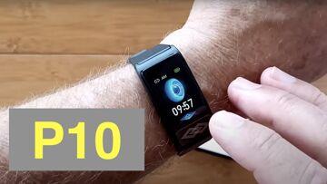 Bakeey P10 IP67 Smartwatch/Chest Mount ECG Plus Pulse/BP/HRV/Sleep Apnea/SpO2/More: Unbox & 1st Look