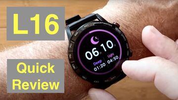 Bakeey L16 Full-Touch 360*360 HD IPS Screen IP68 Waterproof ECG Smartwatch: Quick Review