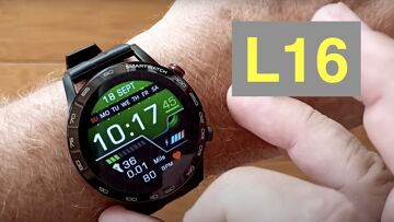 Bakeey L16 Full-Touch 360*360 HD IPS Screen IP68 Waterproof ECG Smartwatch: Unboxing and 1st Look