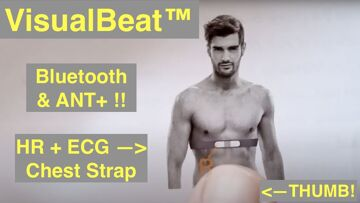 Wellue VisualBeat™ Wearable Heart Rate ECG/EKG Chest Strap both ANT+ and Bluetooth: Quick Review