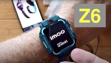 iMoo Watch Phone Z6 Android 7.1.1 QualcomWear Swim Waterproof 4GLTE Dual Camera Smartwatch: 1st Look