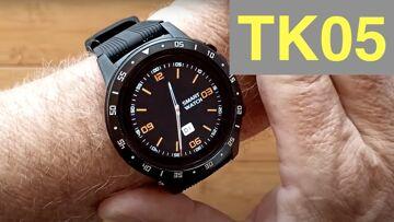 LOKMAT TK05 (TK04) GPS, SIM/BT Calls, Blood Pressure, IP67 Waterproof Smartwatch: Unbox and 1st Look