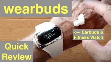 Aipower Wearbuds AI-W20 Wireless Earbuds Power Charging Smartwatch Fitness Tracker:  Quick Overview