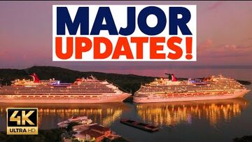 Cruise ship, Royal Caribbean International, MS Freedom of the Seas EGA CRUISE UPDATE: Carnival, Royal Caribbean, P&O and MUCH MORE!!