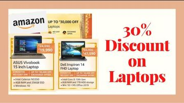 Dell Inspiron, Discounts and allowances, Intel Core Amazon Great Indian Festival sale Best Laptop in 2020