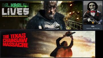 Call of Duty, The Texas Chain Saw Massacre, Activision, Battle royale game Warzone!! Texas Chainsaw Massacre, Saw & Dr Karlov