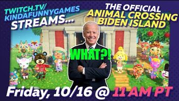 Animal Crossing, Joe Biden can Elections are coming to an Animal Crossing island near you!