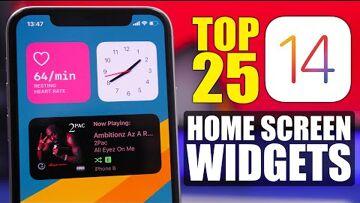 iOS, Spotify, Software widget, Apple, iPhone Top 25 – iOS 14 Home Screen WIDGETS !