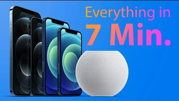 Apple, AirPods, iPhone, HomePod Entire Apple Event for iPhone 12 and HomePod Mini in 7 Minutes!