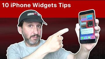 iOS, iPhone, Home screen, Apple 10 Tips For Using iPhone Home Screen Widgets