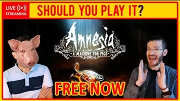Amnesia: A Machine for Pigs, Epic Games, Kingdom, Amnesia: The Dark Descent, The Chinese Room, Frictional Games 🔴 Amnesia: A Machine for Pigs | REVIEW – Should You Play It? (FREE FROM EPIC NOW!)