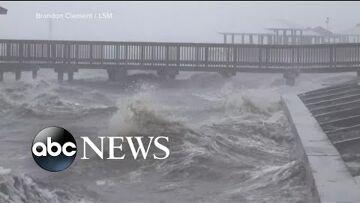 Ginger Zee, ABC News Hurricane Delta bears down on Gulf Coast | WNT