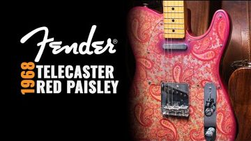 American Exchange 1968 Fender Red Paisley Telecaster | CME Vintage Demo | Nathaniel Murphy