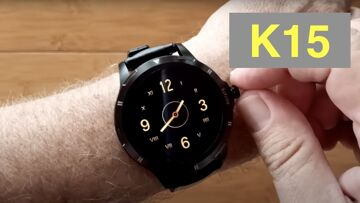 FINOW K15 Body Temperature Blood Pressure Health Fitness Smartwatch: Unboxing and 1st Look