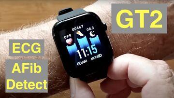 FINOW GT2 Apple Shaped Smartwatch ALL THIS: ECG/Pulse/BP/HRV/Sleep Apnea/SpO2/More: Unbox & 1st Look