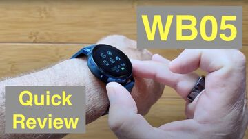 CORN WB05 Bluetooth Call 90 Days Standby IP67 Waterproof 390 X 390 AMOLED Smartwatch: Quick Overview