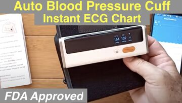 Wellue FDA Approved Wireless Blood Pressure Monitor with ECG/EKG Charts: Unboxing and 1st Look