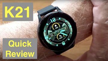 FINOW K21 Body Temperature Blood Pressure IP67 Waterproof Health Fitness Smartwatch: Quick Overview