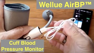 Wellue FDA Approved AirBP™ Cuff Blood Pressure Monitor with Bluetooth Support: Unboxing and Review