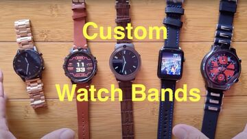 StrapsCo Custom Smartwatch Bands/Straps – Upgrade/Accessorize your Android, Sports, Fitness Wearable
