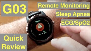 Bakeey G03 Dress Smartwatch with ALL THIS: ECG/Pulse/BP/HRV/Sleep Apnea/SpO2/More: Quick Overview