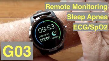 Bakeey G03 Dress Smartwatch with ALL THIS: ECG/Pulse/BP/HRV/Sleep Apnea/SpO2/More: Unbox & 1st Look