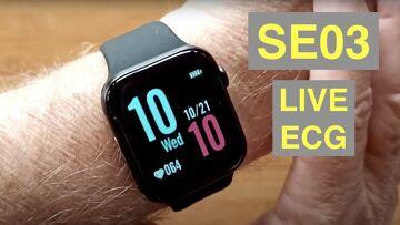 CYUC SE03 Apple Watch Shaped IP68 Waterproof ECG+PPG Blood Pressure Smartwatch: Unboxing & 1st Look