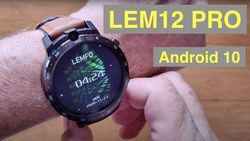 LEMFO LEM12 PRO Android 10 MT6762 Dual Cameras 4GB/64GB Face Unlock 4G Smartwatch: Unbox & 1st Look