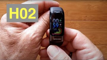 Bakeey H02 Smartwatch/Band ALL THIS: ECG/Pulse/BP/HRV/Sleep Apnea/SpO2/More: Unboxing and 1st Look