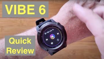 ZEBLAZE VIBE 6 Bluetooth Calling IP67 Waterproof Smartwatch with Music Player: Quick Review