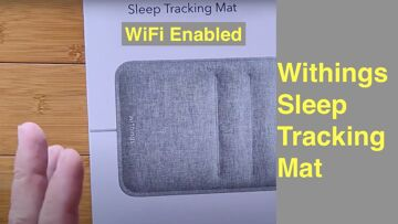 """WITHINGS """"Sleep Tracking Mat"""" monitors sleep cycles, tracks heart rate, detects snoring over WiFi!"""