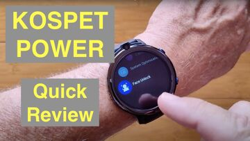KOSPET POWER 4G Android 7.1.1 Dual Camera 3GB/32GB IP67 Waterproof Smartwatch: Quick Overview