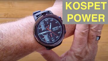 KOSPET POWER 4G Android 7.1.1 Dual Camera 3GB/32GB IP67 Waterproof Smartwatch: Unboxing and 1st Look