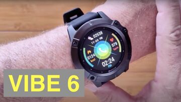 ZEBLAZE VIBE 6 Bluetooth Calling IP67 Waterproof Smartwatch with Music Player: Unboxing and 1st Look