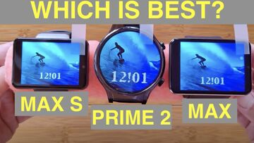 PRIME 2 vs MAX vs MAX S Android Smartwatches: Which HUGE Watch is best for you?